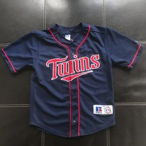 Russell athletic Twins baseball jersey